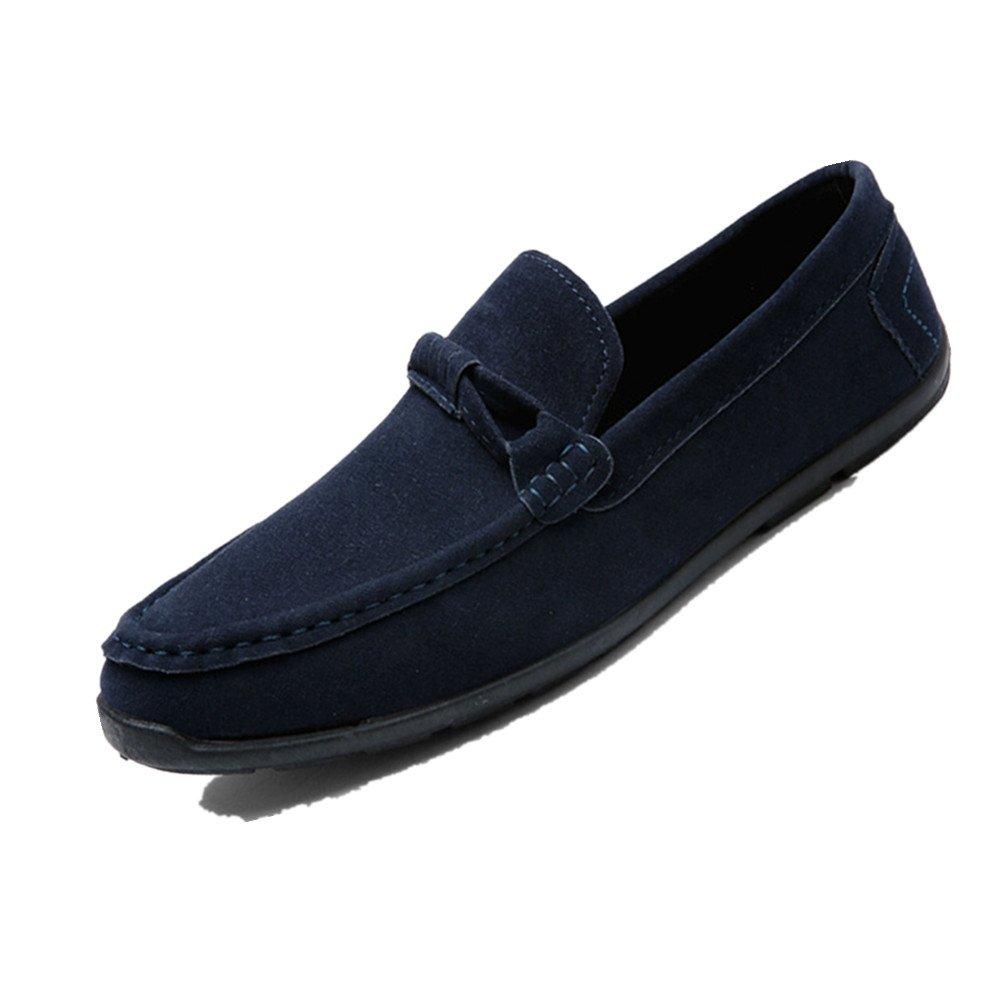 LIEBE721 Mode Lauml;ssig Schuhe Raster Slip auf Mauml;nner Beliebte Freizeitschuhe  43 EU|Blau