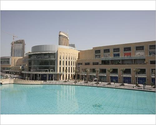 Photographic Print of The Dubai Mall, the largest shopping mall in the World, Downtown Burj - Downtown La Malls Shopping In