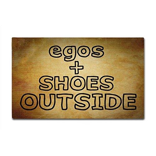 - RIJIAXIN Doormat Inside/Outside Kitchen Non-Slip Entrance Floor Mat -Egos Shoes Outside Door Mat Indoor Rubber Mat 15.7x23.6 Inch