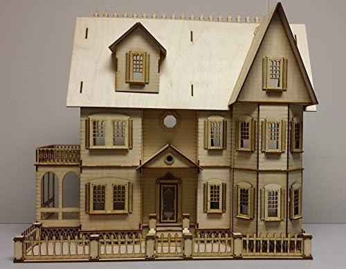 1:24 Half Inch Scale Dollhouse Miniature  Cat Food  box # 9
