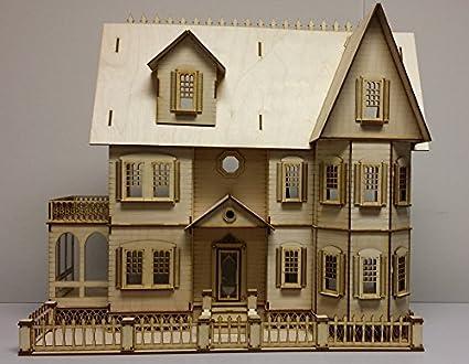 Dollhouse miniature DIY laser cut 1//4 scale Palm REJECT