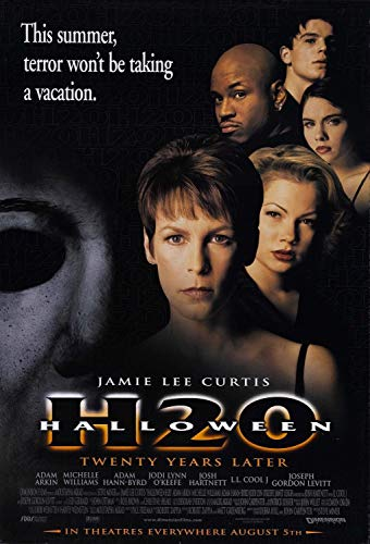 Halloween H20 20 Years Later Jamie Lee Curtis Original Single Sided 27x40 Movie Poster 2002 -