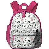 Funny Schoolbag Backpack Pink Flamingo Toddler Kids Pre School Bag Cute 3D Print Children School Backpack
