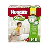 HUGGIES Trusted Leak Lock protection Little Movers Diaper Pants , Size 4, 148 Count by Watchy Shop