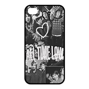 All Time Low iPhone 5s Cases Hard Soft Compound Protective Cover Case for iPhone 5 5s Designed by Windy City Accessories