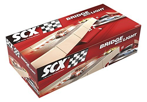 Digital System Bridge with Light by SCX Slot Cars