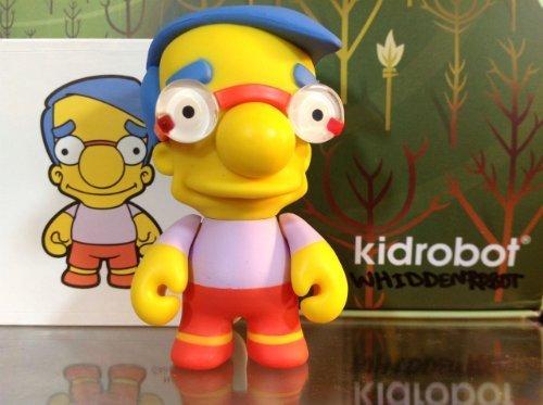 Simpsons Series 2 Kidrobot Milhouse New W/Box Foil & Card (2 Foil Series)