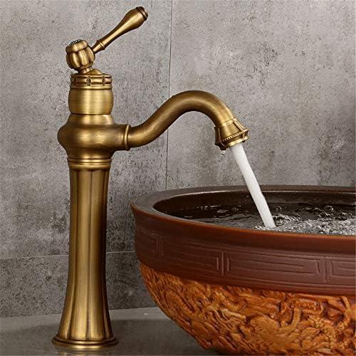 Grifo de filtro de agua potable Grifo de lavabo antiguo de cobre ...