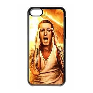 LJF phone case C-EUR Print Eminem Pattern Hard Case for iphone 4/4s