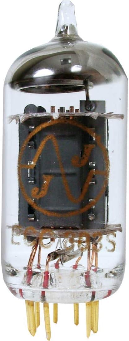JJ ECC803 / 12AX7 Long Plate Gold Pin Vacuum Tube