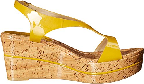 Donald J Pliner Womens Delon2-26 Wedge Sandal Yellow IsqXKg