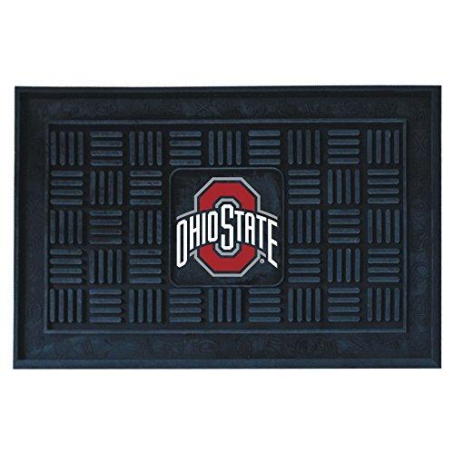 FANMATS NCAA Ohio State University Buckeyes Vinyl Door Mat (Discount Indoor Outdoor Carpet)