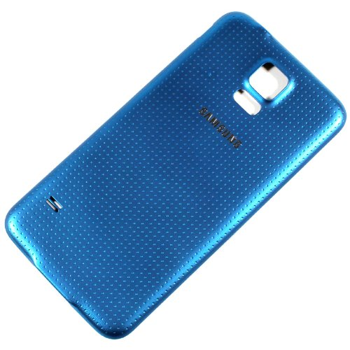 RBC Battery Back Door Cover Replacement For Samsung Galaxy S5 G900F G900A G900V G900T Electric Blue