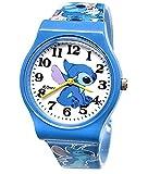 "Disney Lilo & Stitch Watch .Large Analog Dial. 9""L Band."