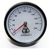Porter Cable Replacement Air Compressor Gauge 200PSI 125NPT # Z-D27212