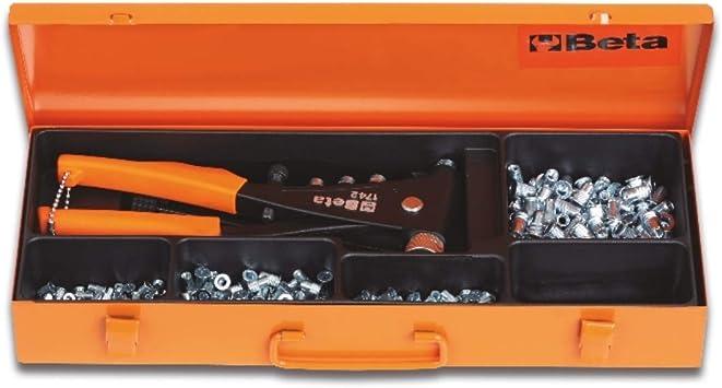 Beta 017420005-1742/C4-Caja Remac. 1742 Y 400 Remaches: Amazon.es: Bricolaje y herramientas