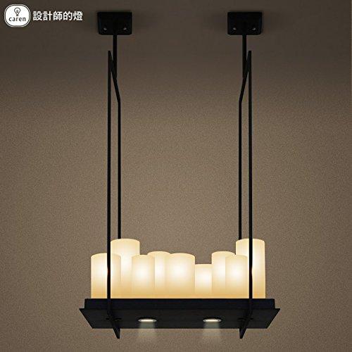Leihongthebox retro idyllic Creative personality French country LED light candles Pendant Ceiling Lighting ,50cm100cm Europe
