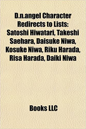 Buy D N Angel Character Redirects To Lists Satoshi Hiwatari Takeshi Saehara Daisuke Niwa Kosuke Niwa Riku Harada Risa Harada Daiki Niwa Book Online At Low Prices In India D N Angel Character Redirects To
