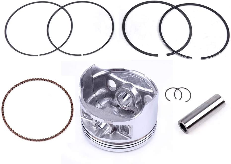 FINDAUTO Power Steering Power Cylinder Kits for Honda TRX 350FA 350FM 350TE 350TM RANCHER 2000-2006 with Rings Pin and Clips Replace 13101-HN5-670