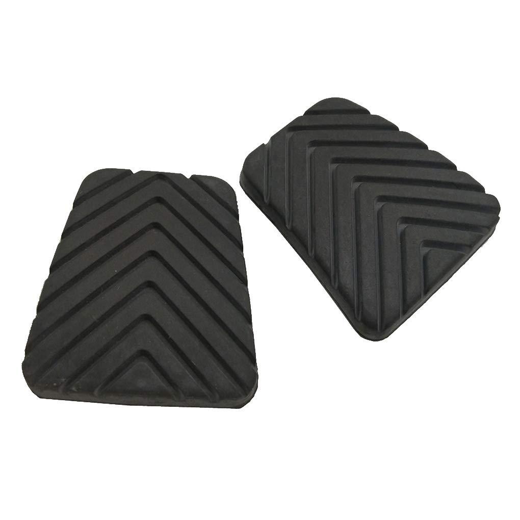 DIAMOEN 1 par de Embrague del Freno de Pedal Cubierta del coj/ín de Goma Negro Antideslizante para Hyundai Accent