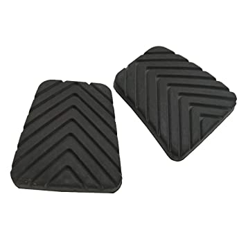 Ben-gi 1 par de Embrague del Freno de Pedal Cubierta de Goma Negro Antideslizante Almohadilla de Repuesto para Hyundai Accent 3282536000: Amazon.es: Hogar
