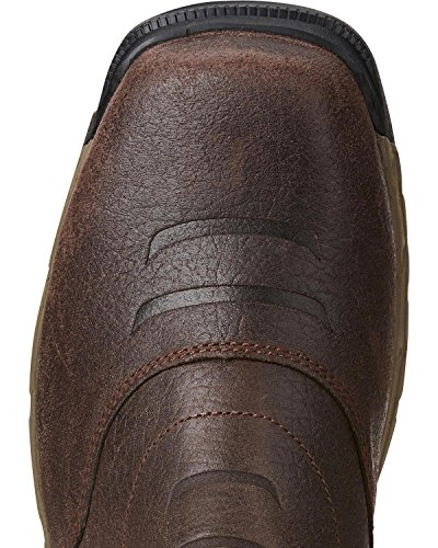 Ariat Work Mens Rebar Flex Western Composito Toe Work Boot, Chocolate Brown, 11 E Ci Cioccolato