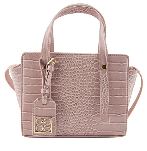 88-avis-pink-croco-mini-tote-crossbody-bag