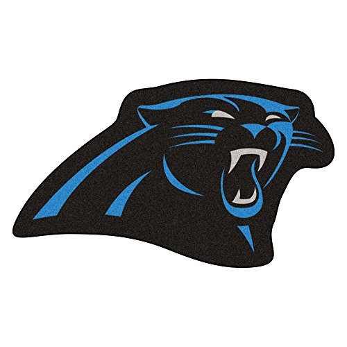 FANMATS 20964 Team Color 3' x 4' NFL - Carolina Panthers Mascot Mat