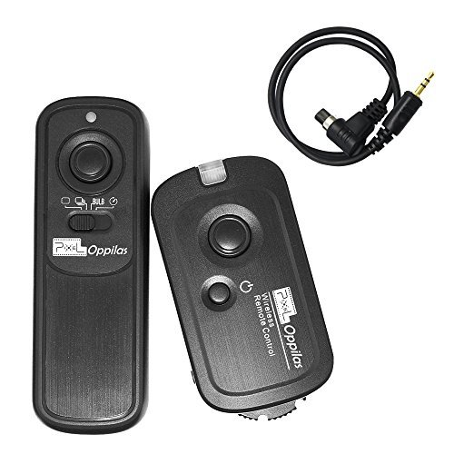 PIXEL Oppilas/N3 DSLR Camera Wireless Shutter Remote Control For Canon EOS 1D 1Ds Mark II III IV 5D Mark II 7D 50D 40D 30D 20D 10D by Pixel