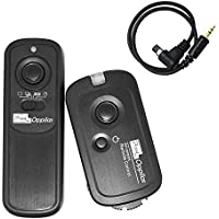 PIXEL Oppilas/N3 DSLR Camera Wireless Shutter Remote Control For Canon EOS 1D 1Ds Mark II III IV 5D Mark II 7D 50D 40D 30D 20D 10D