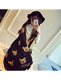 nwn Cashmere Scarf Female Autumn and Winter Thickening Ultra Long Soft Versatile Shawl Dual Purpose (Color : B)