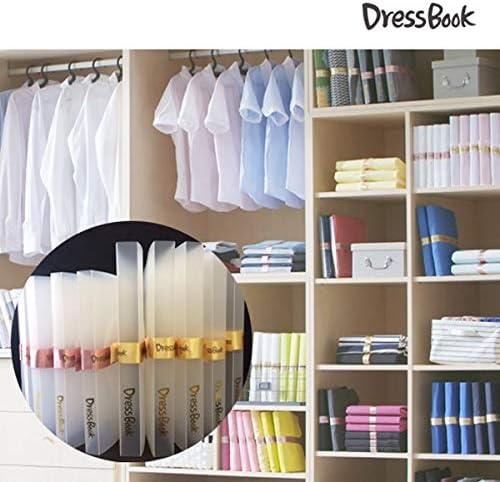 DRESSBOOK OYSTERBOY Organizador de Ropa Plegable para Camisetas