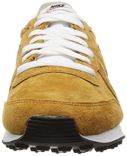 Nike Internationalist Leather - Zapatillas de running Hombre Marrón / Negro / Blanco (Bronze / Black-Beige Chalk-White)