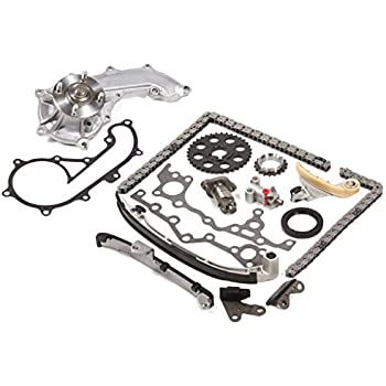 Fits 94-04 Toyota 2.7 DOHC 16V 3RZFE Timing Chain Kit Water Pump