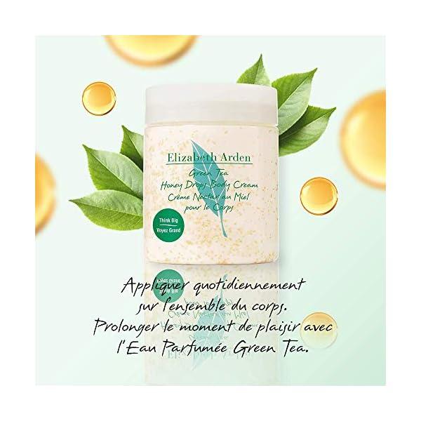 Elizabeth Arden – Green Tea – Crème Nectar au Miel pour le Corps – Ultra-Hydratant – Apaise & Adoucit