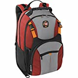 Swiss Gear Sherpa 16' Laptop Backpack Travel School Bag - Red