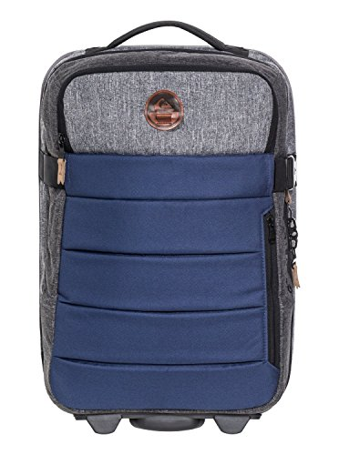 Quiksilver Men's New Horizon Roller Luggage, Medieval Blue Heather, 1SZ