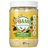 PB&Me Powdered Peanut Butter - Traditional - 90 Percent Less Fat 1 Pound
