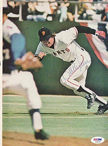 Bobby Murcer Autographed Signed Magazine Page Photo Giants S39006 PSA/DNA Certified Autographed MLB Magazines