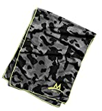 Mission Enduracool Techknit Cooling Towel, Black Camouflage, Large