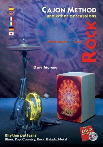 Cajon Method and Other Percussions - Rock (with dvd)