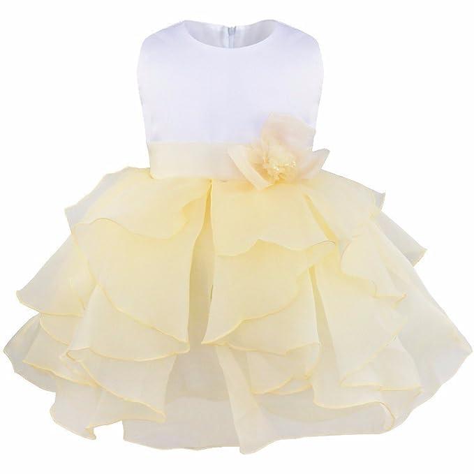 iEFiEL Babykleider - Babybekleidung Baby-Mädchen Prinzessin Kleid ...