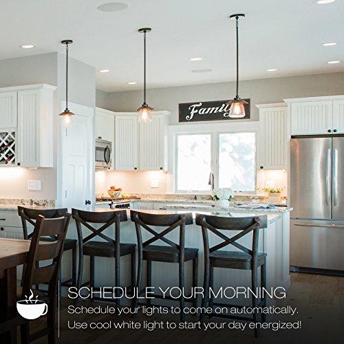 Sylvania Lightify 65W LED Smart Home Color/White Light Bulb (2 Pack) by Sylvania Smart Home (Image #4)