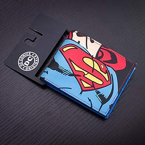 DC Marvel Comics - Cartera de PVC para Hombre (8,9 cm ...
