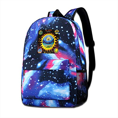 ASDONES Unisex Galaxy Bookbag Dr Jo_hn Backpack Bag for Mens Womens Teens