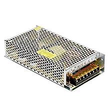 Lemonbest DC 12V 15A 180W Power Supply Transformer Driver Converting 110- 220V AC to 12V DC for LED Strip Lights