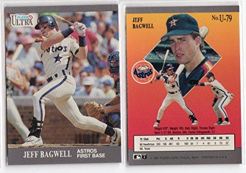 1991 Fleer Ultra Update Jeff Bagwell Rookie Baseball Card ()
