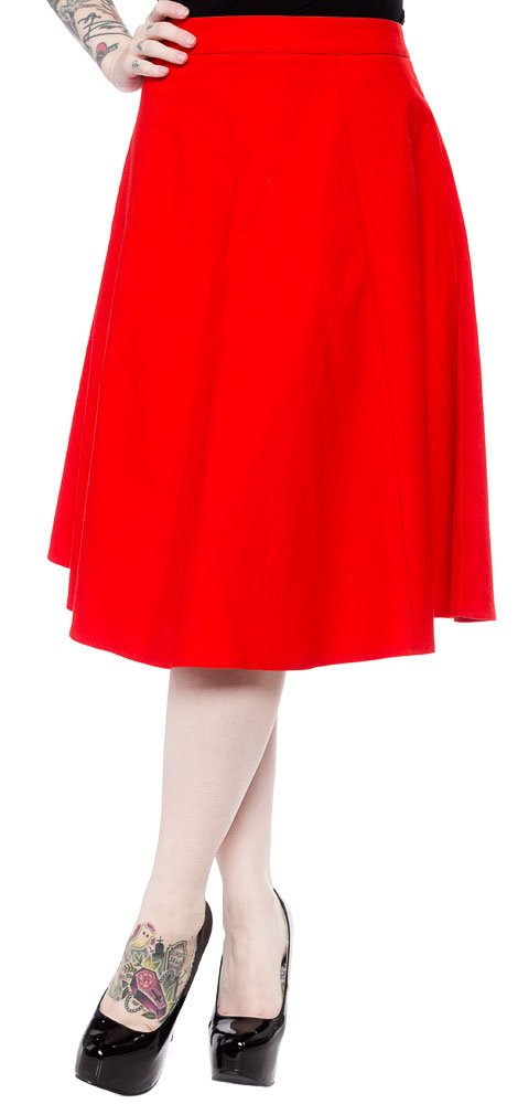Sourpuss Donna Skirt Red XXL
