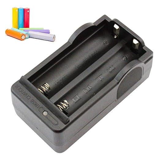 shewt 3.7V Cargador de batería de Iones de Litio para 18650 ...