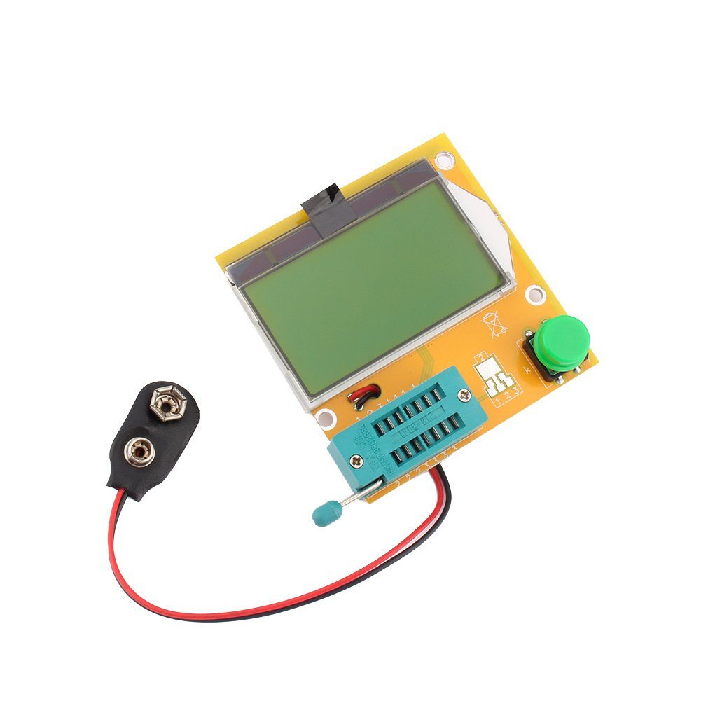 Yosoo Mega328 Transistor Tester Diode Triode Capacitance ESR Meter MOS/PNP/NPN L/C/R